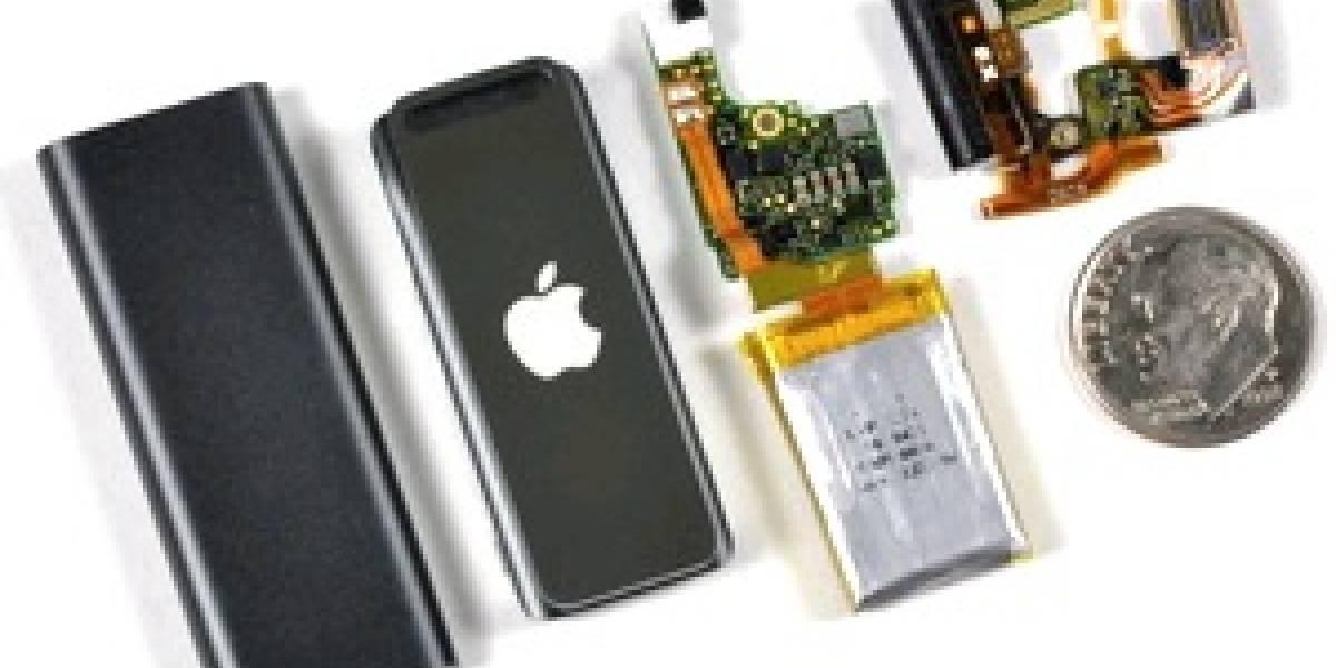 El costo del nuevo iPod Shuffle es de USD$21.77
