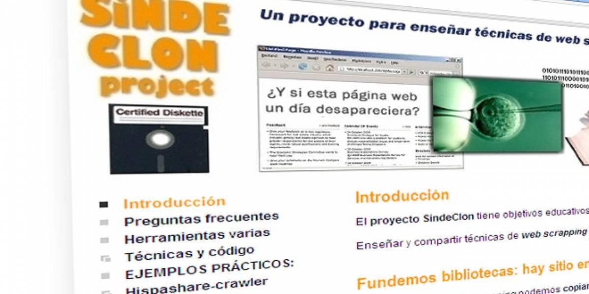 SindeClon: Otro instrumento para burlar la lucha antidescargas