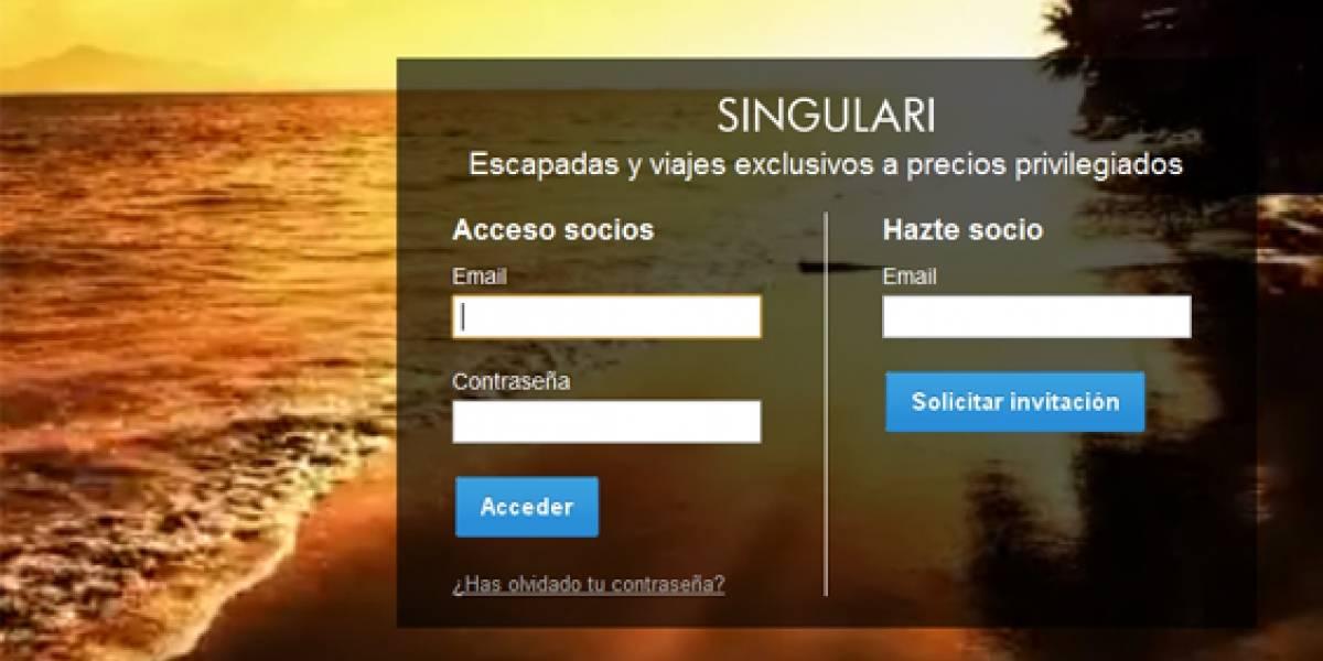 España: Nace 'singulari.com', la web española de escapadas VIP