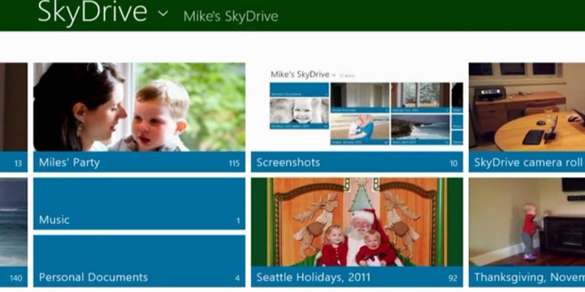 Microsoft remodela SkyDrive para Windows 8