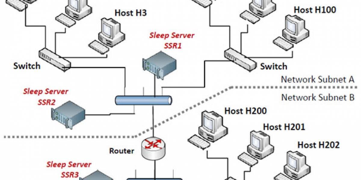 "SleepServer: Computadoras que ""trabajan mientras duermen"""