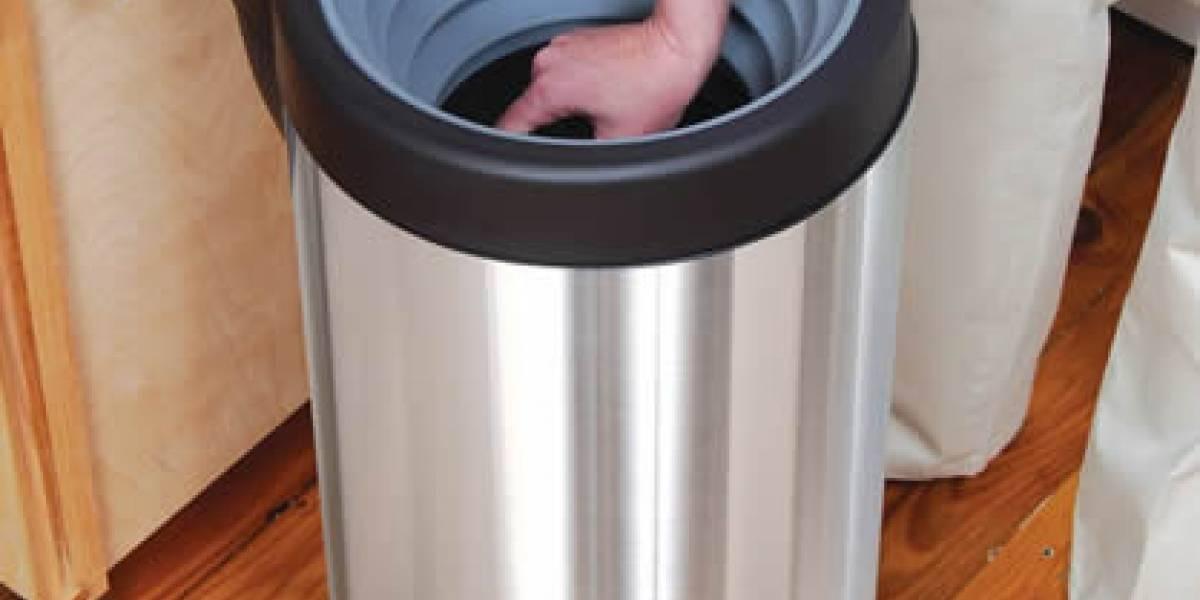 Ya puedes comprimir la basura de la cocina sin ensuciarte las manos