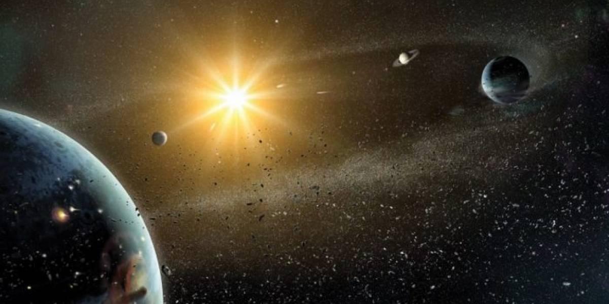 Nuestro sistema solar es uno de los más desordenados del universo