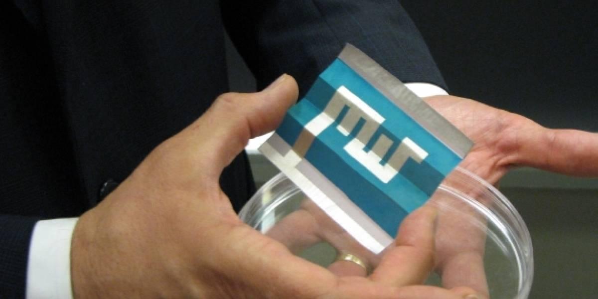 Las celdas solares del futuro vendrán impresas en papel