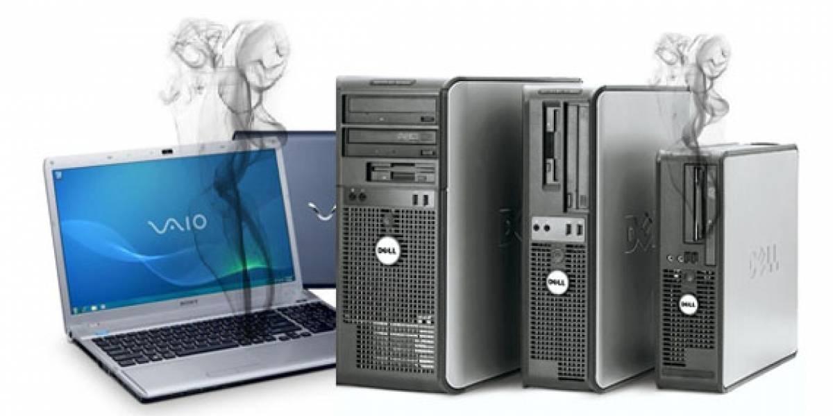 Dell y Sony en problemas por fallas de hardware en sus equipos