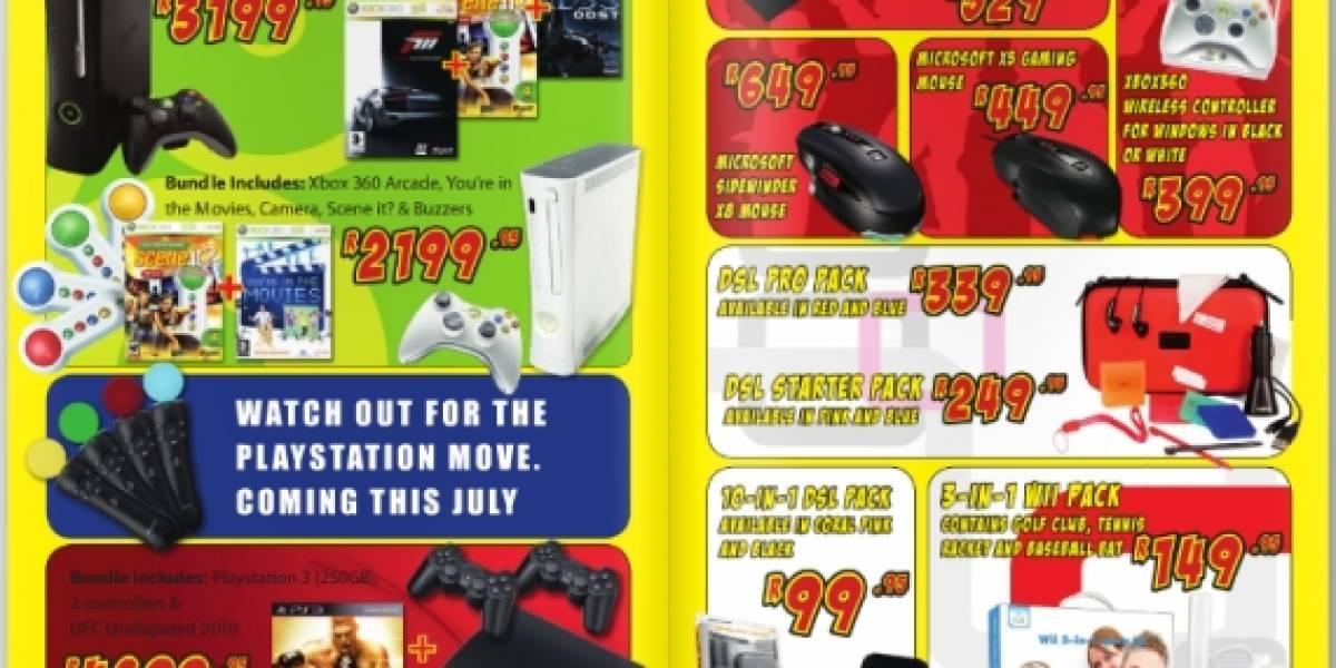 Futurología: Sony comercializaría su control Move a partir de Julio