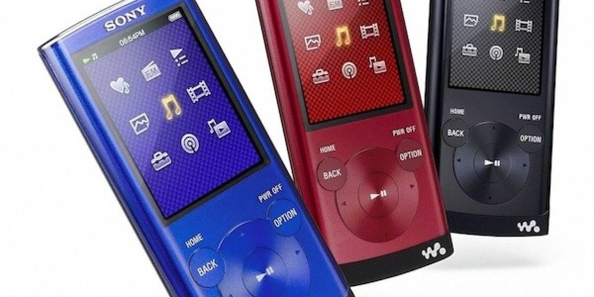 Sony lanza nuevos Walkman