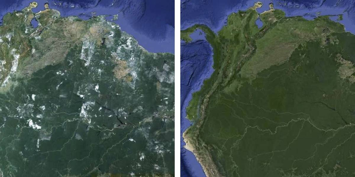 "Google Maps ahora está ""virtualmente libre de nubes"""