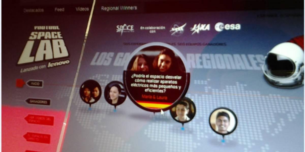 Dos adolescentes españolas resultan ganadoras regionales del YouTube Space Lab