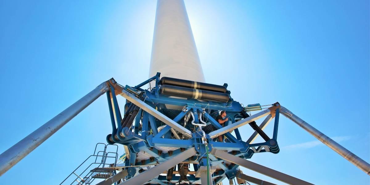 El cohete Grasshopper logra despegar 365 metros y aterrizar