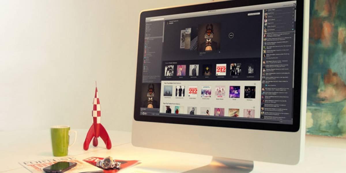 Futurología: Spotify estaría preparando una versión Web