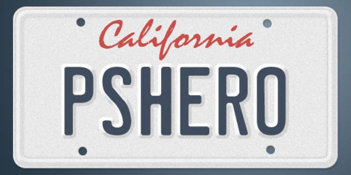 California podría poner publicidad en las placas de coches