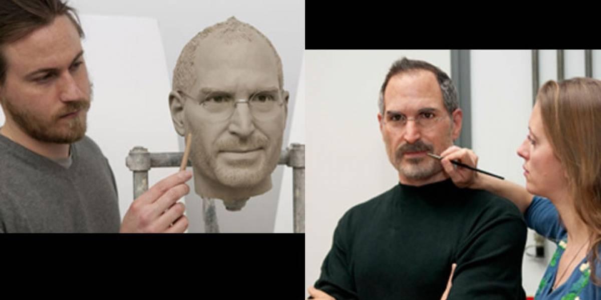 Steve Jobs revive en el museo de cera Madame Tussauds