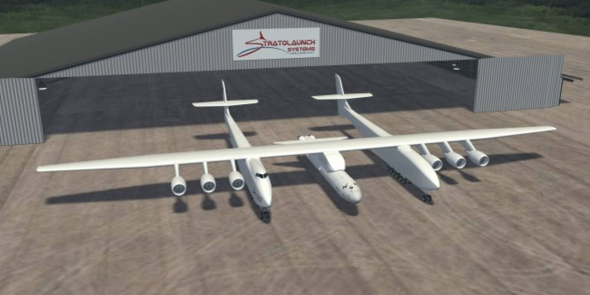 Stratolaunch: La apuesta aeroespacial de Paul Allen