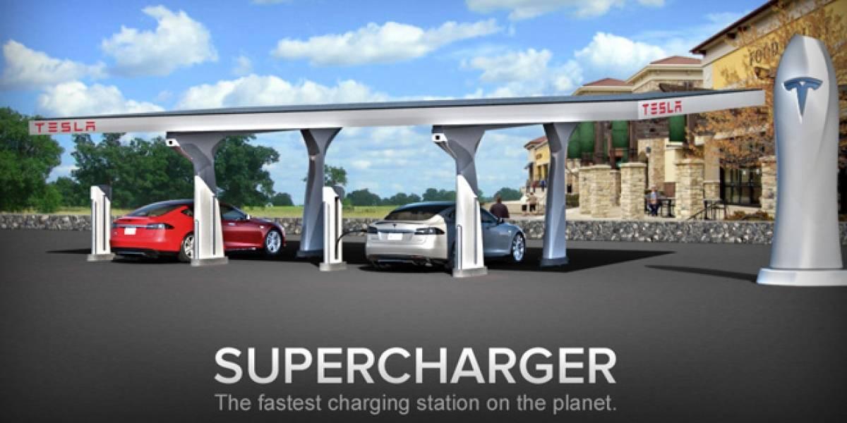 Tesla presenta plan para instalar cargadores solares para autos eléctricos