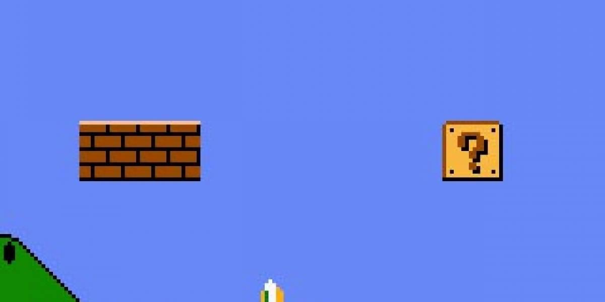 Animación: Completando el juego de Super Mario Bros desde la banqueta