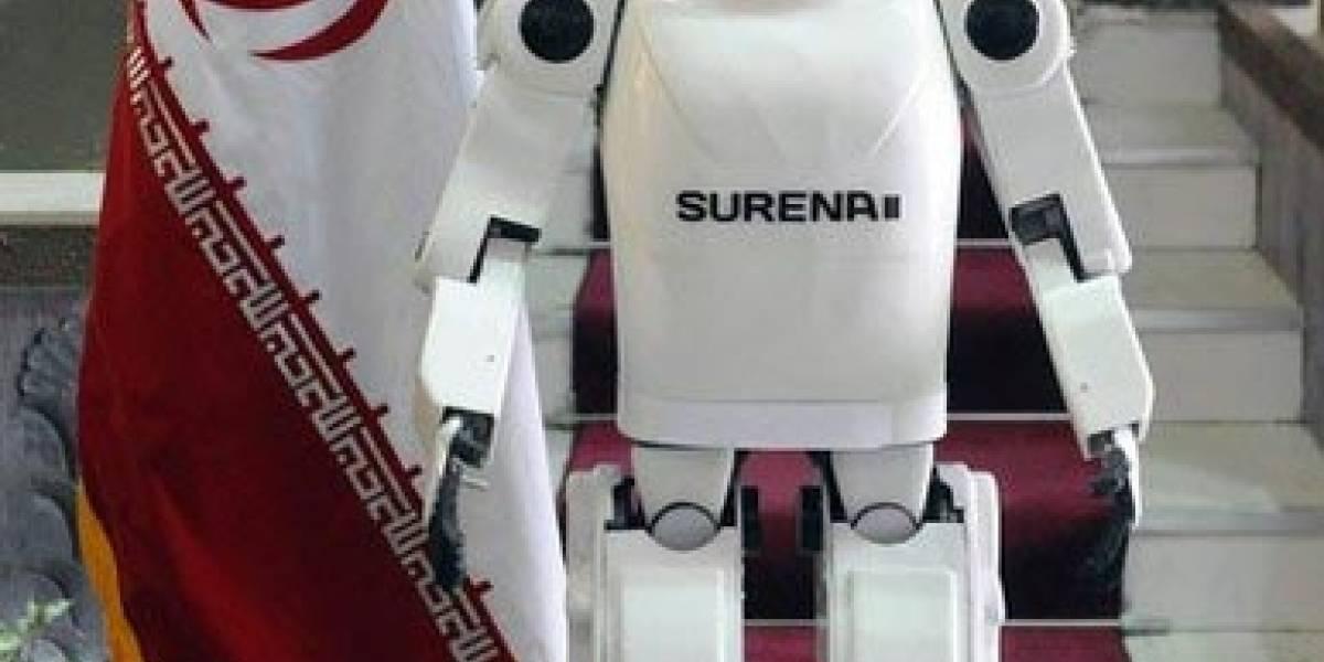 Surena II: El primer robot humanoide de Irán