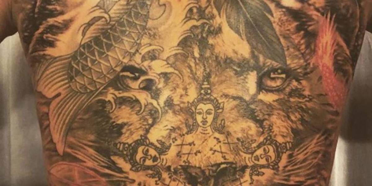 Ibrahimovic mostra tatuagens incríveis no Instagram