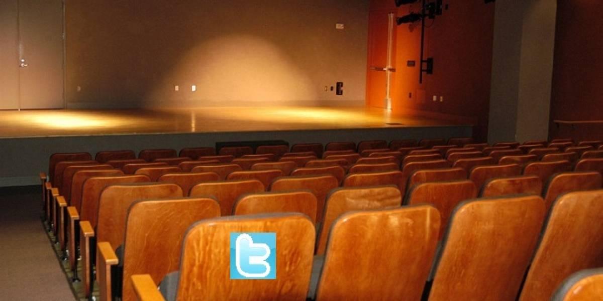 Tuiteros comienzan a tener asientos aislados dentro de los teatros