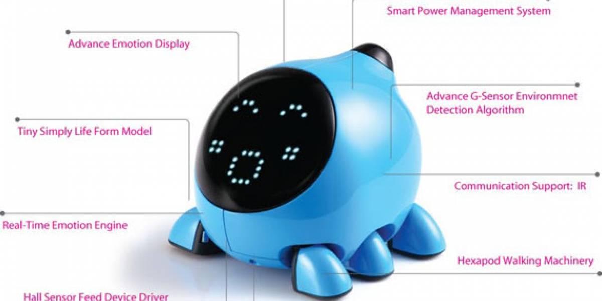 U.bo: Una mascota robot al estilo de Tamagotchi