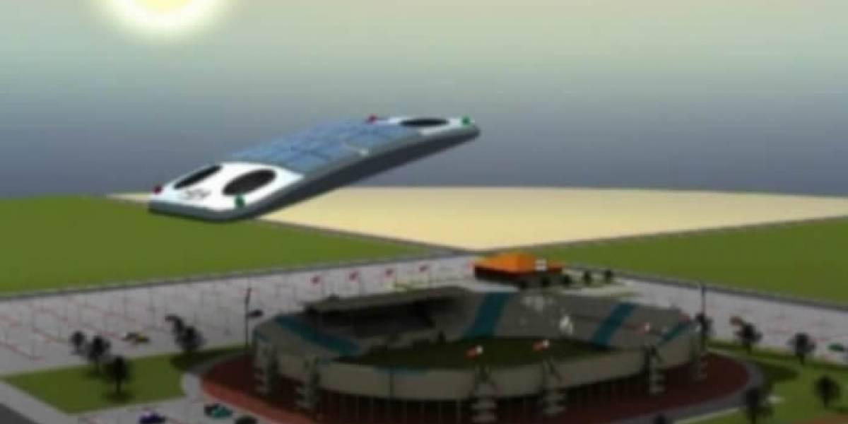 Qatar quiere tapar el sol durante su Mundial de Fútbol con techos voladores