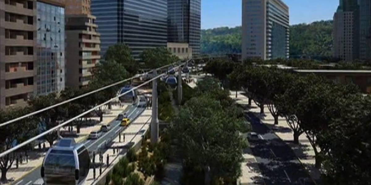Chile: Planean construir un teleférico de 4,6 kilómetros en Santiago