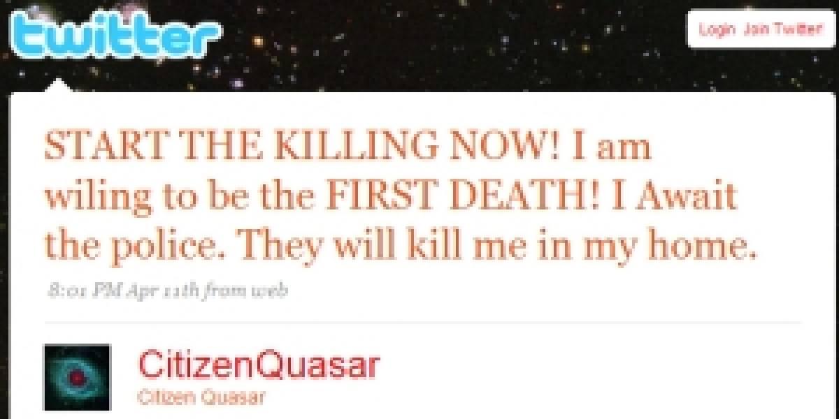 FBI detuvo a twittero que amenazó con matanza