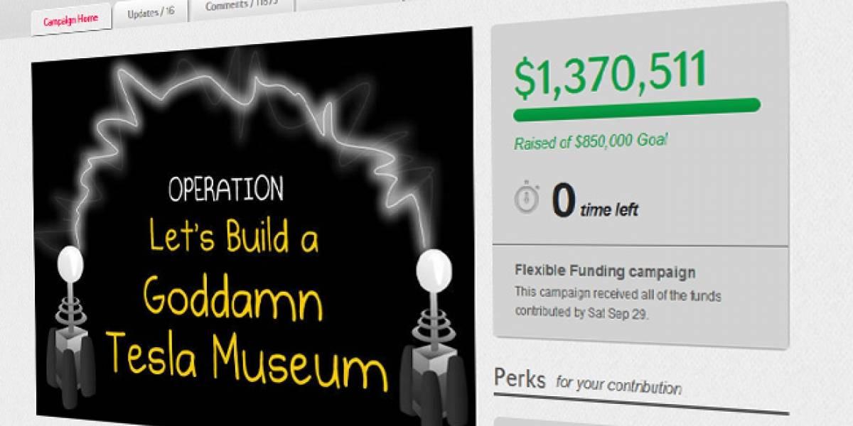 La recaudación para el Museo de Tesla concluyó alcanzando USD$1,4 millones