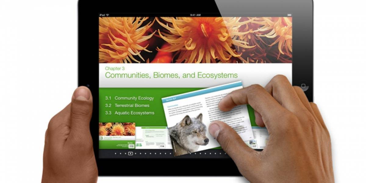 "Apple lanza iBooks Author para ""reinventar"" los libros de estudio"