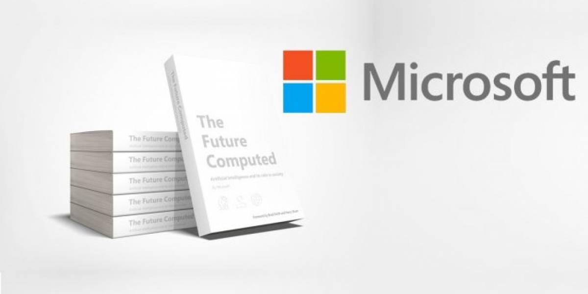 Descarga gratis el nuevo libro de Microsoft sobre Inteligencia Artificial