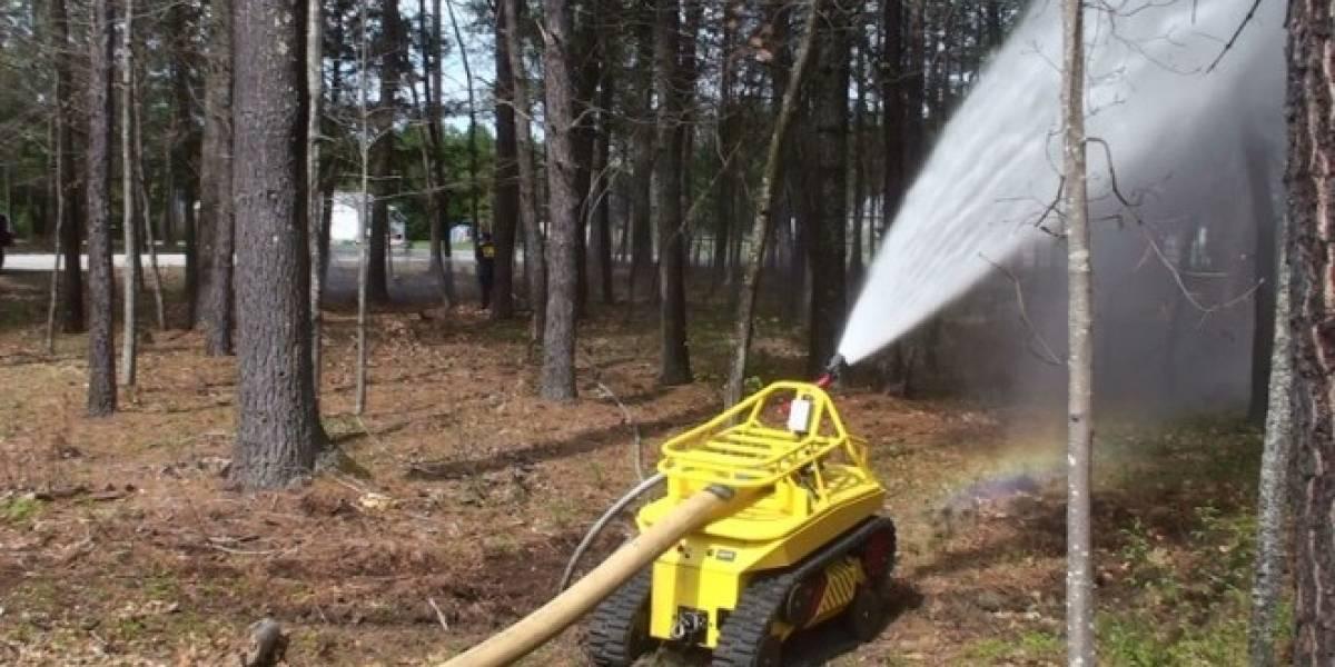 Thermite es el primer robot bombero del mundo