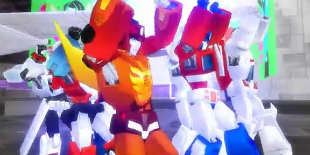 Video: Los Transformers en sus ratos libres ensayaban la coreografía de Thriller