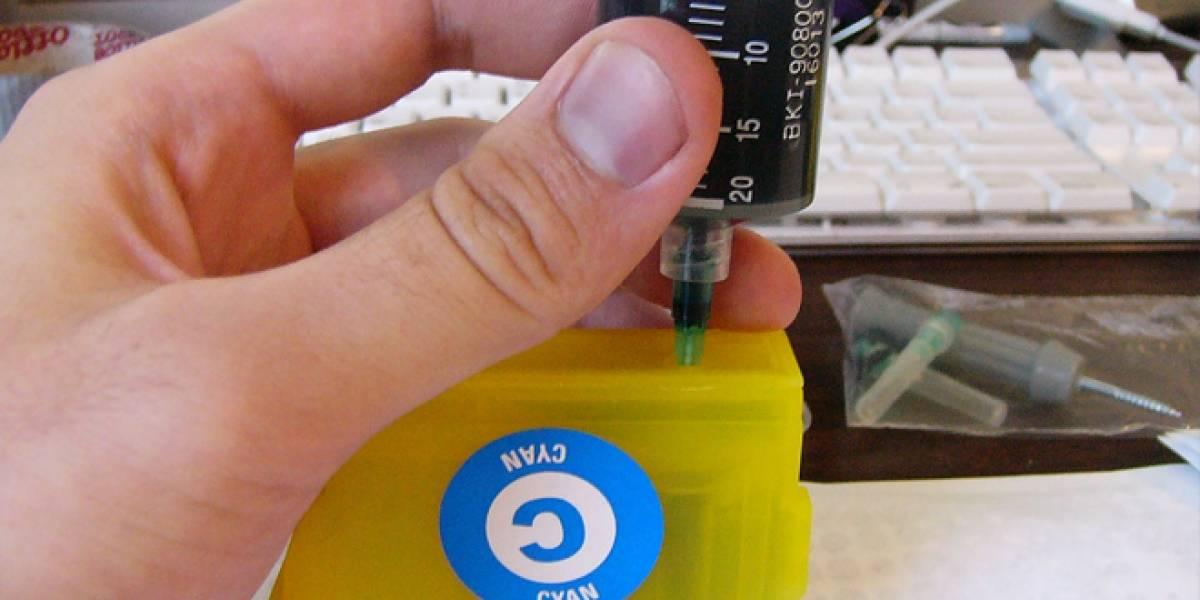 Crean tinta de grafeno para hacer circuitos en una impresora