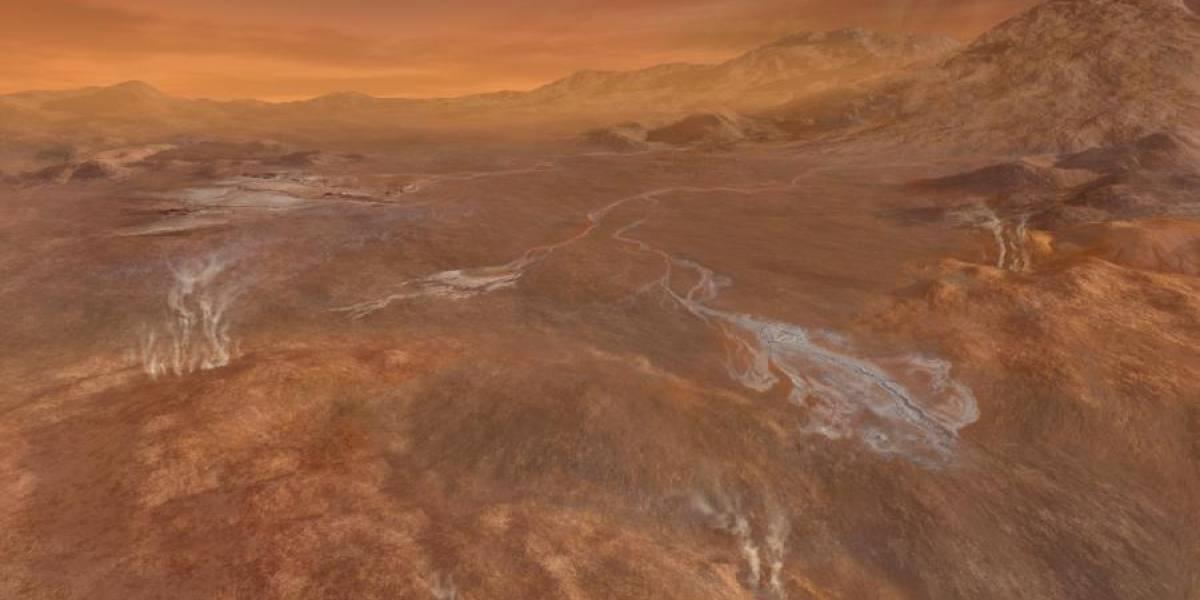 La atmósfera de Titán, proclive para generar vida