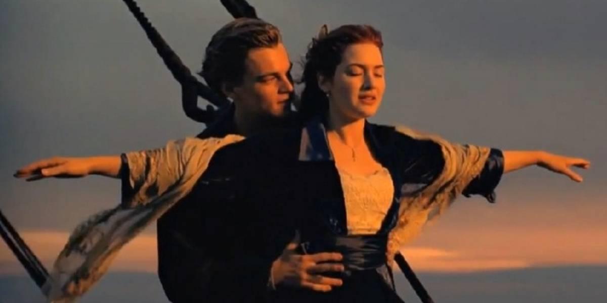 Narran los sucesos del Titanic en Twitter