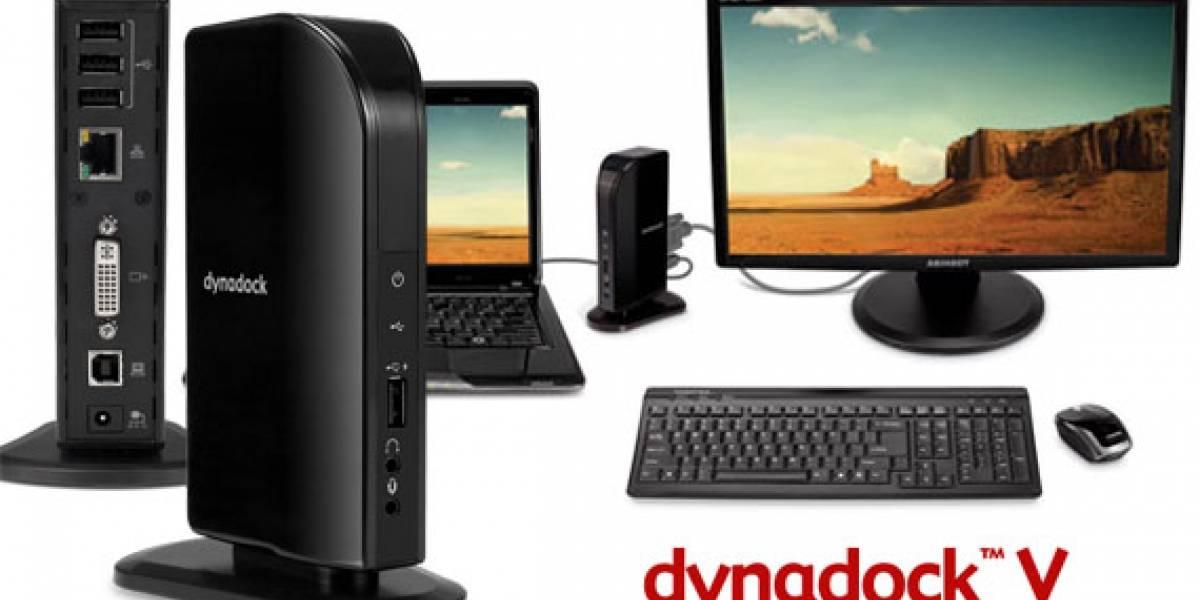 Toshiba Dynadock V: Módulo para extender los puertos de tu portátil