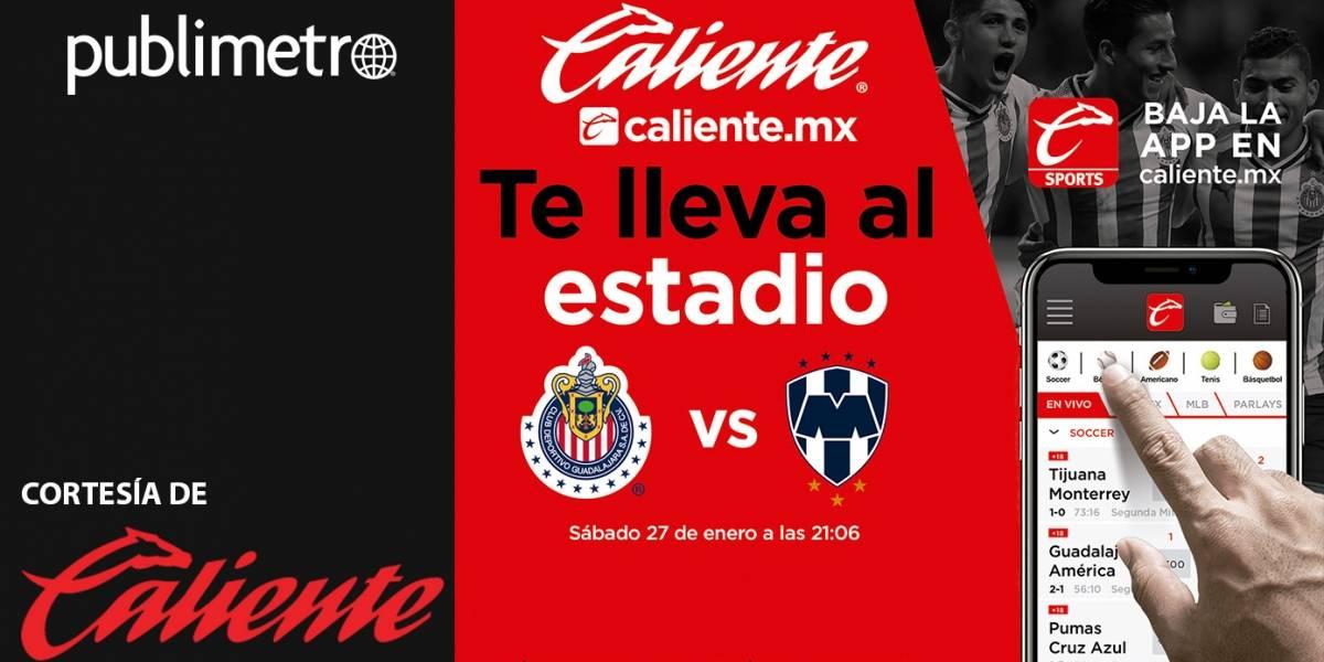 Guadalajara, ¡Gana! boletos con Caliente