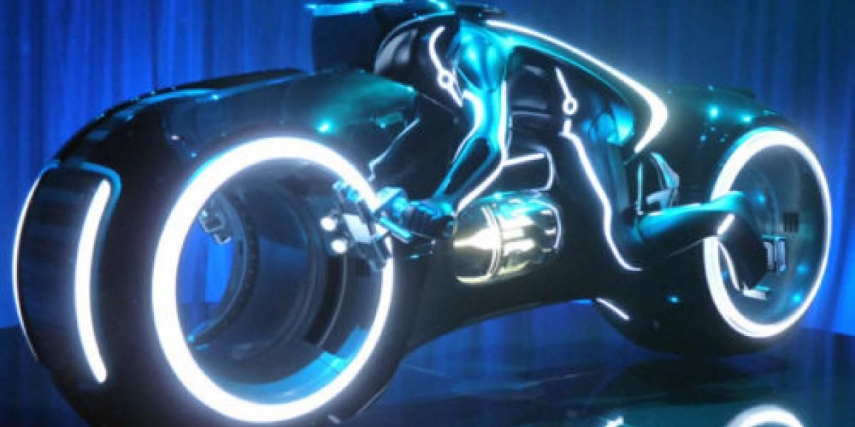 Moto de Tron de verdad cuesta US$35.000 en eBay
