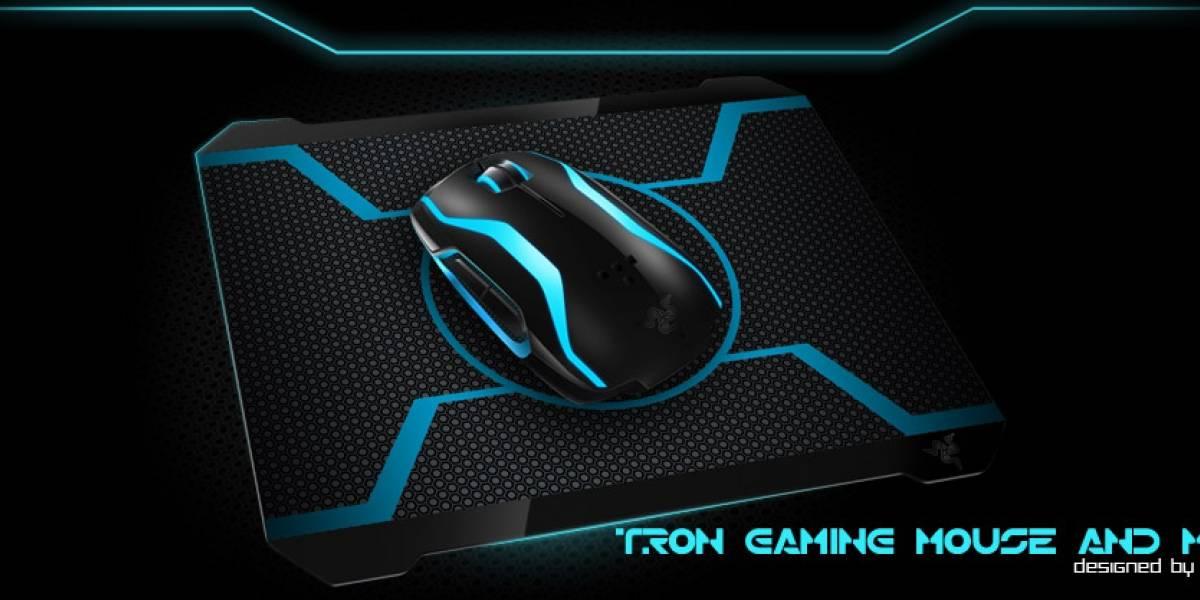 Enchula tu PC con un mouse de Tron