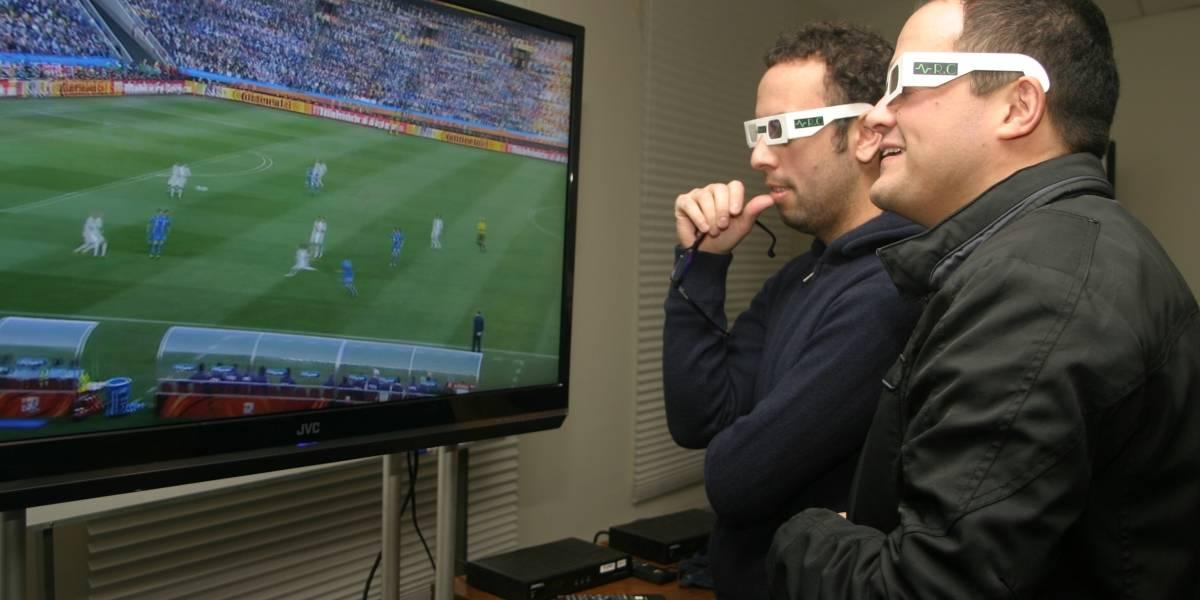 Chile: TVN transmitió el partido Italia vs Eslovaquia en 3D