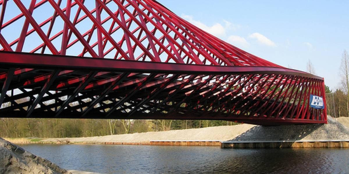 Un puente retorcido