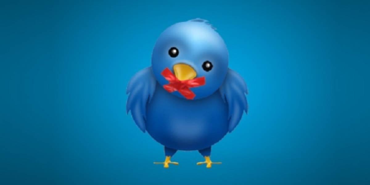 Twitter ahora podrá censurar tweets por solicitudes legales en ciertos países