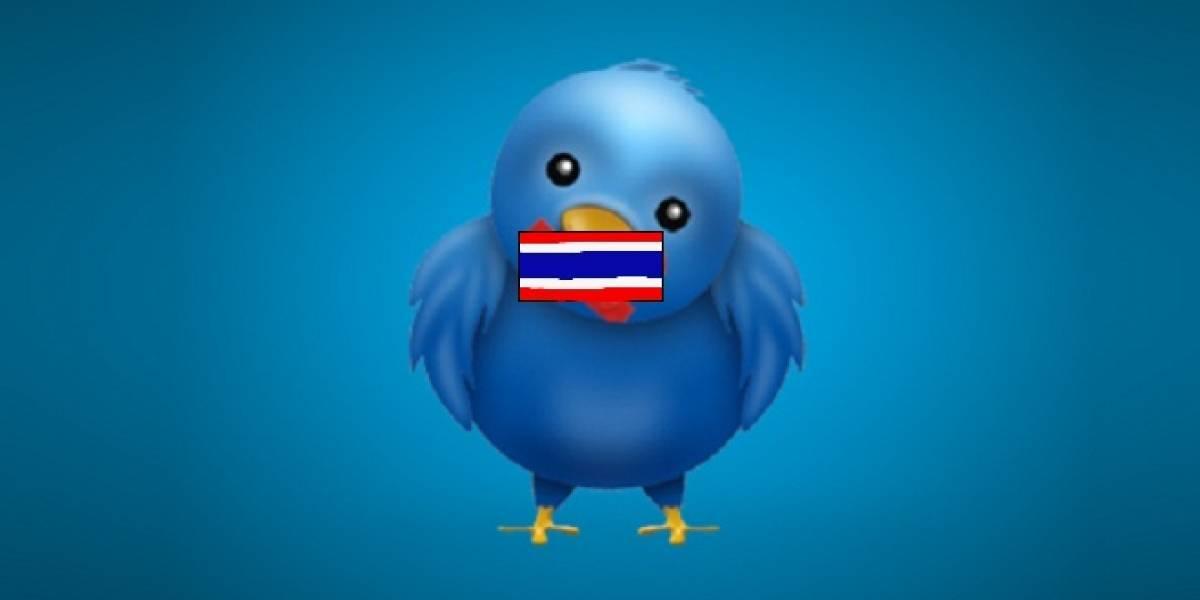 Tailandia es el primer país en adoptar política de censura de Twitter