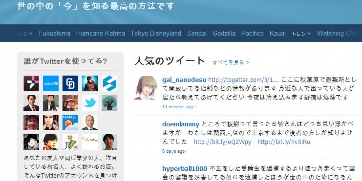 Japoneses recurren a redes sociales tras el terremoto