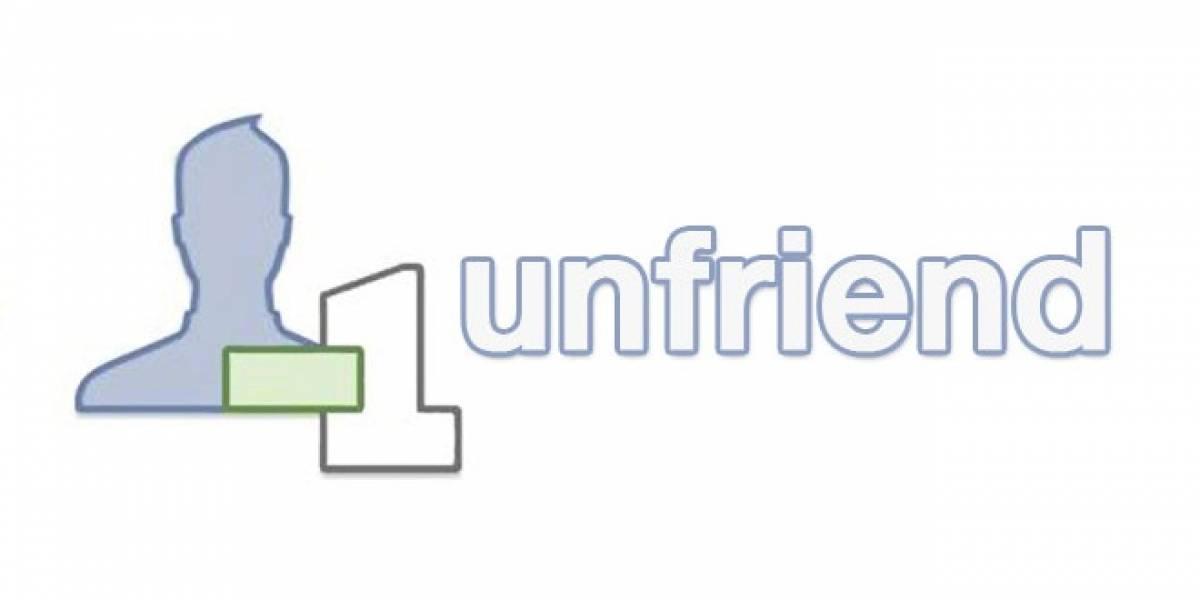 ¿Cuáles son las razones para agregar y eliminar amigos de Facebook?