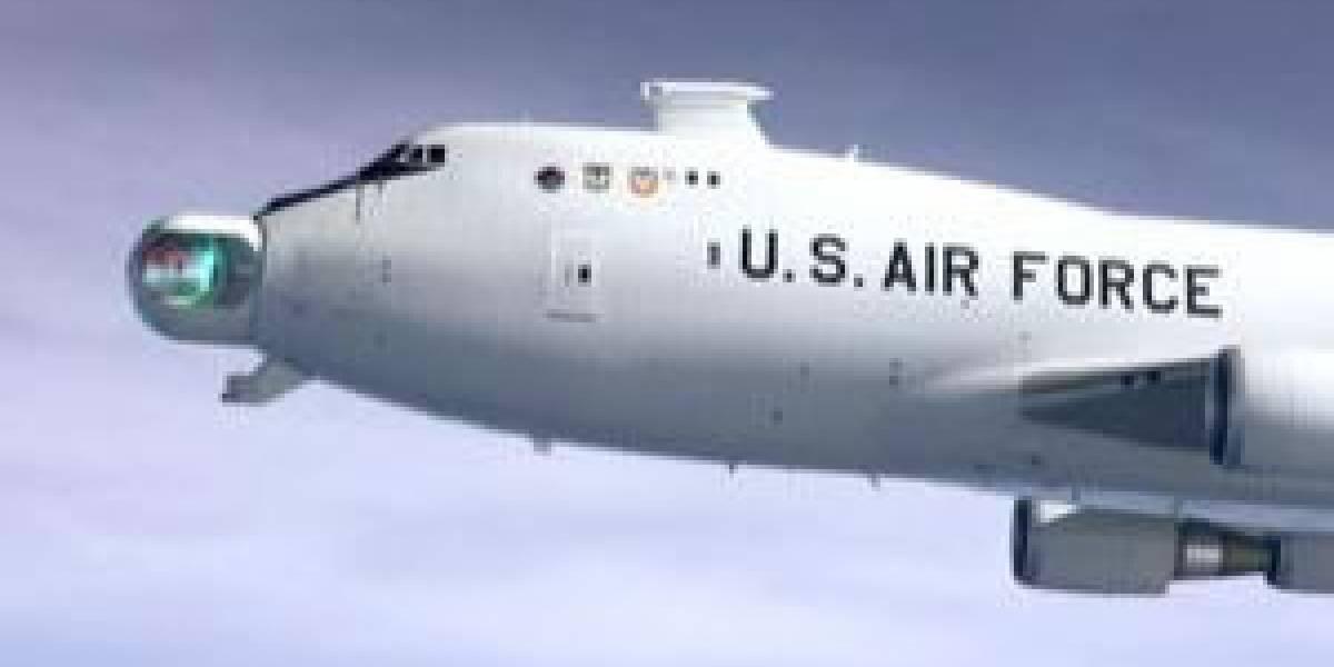 EEUU está probando armas láser en aviones