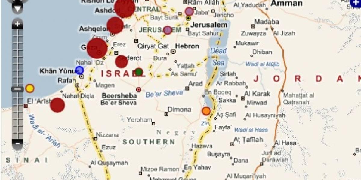 Ushahidi: Siguiendo las crisis armadas vía Web 2.0