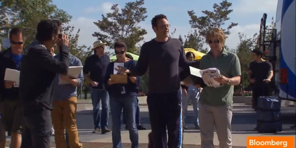 """Vince Vaughn y Owen Wilson rodarán la película """"The Internship"""" en Google"""