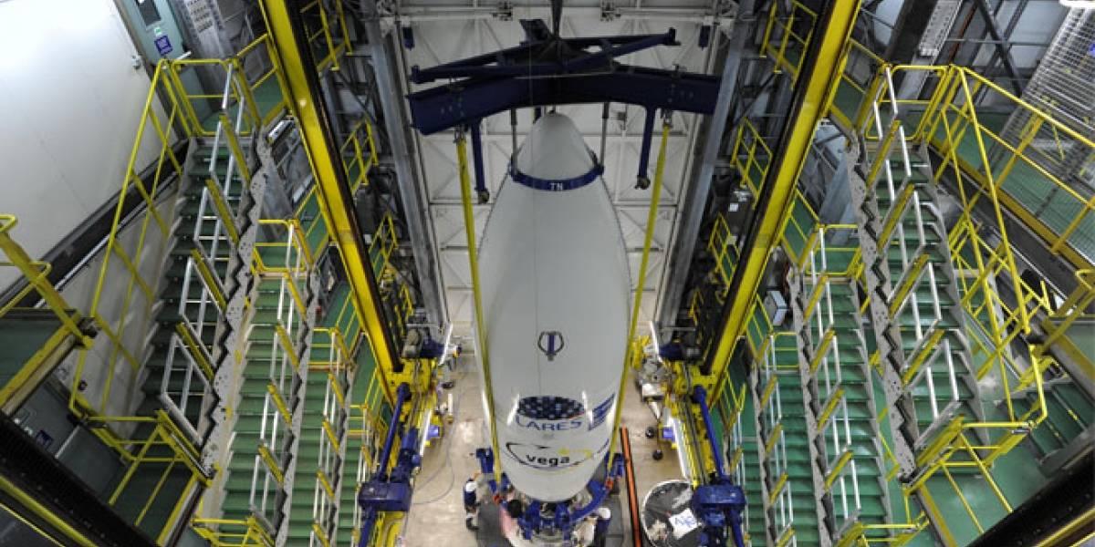 El lanzador europeo Vega realiza su vuelo inaugural
