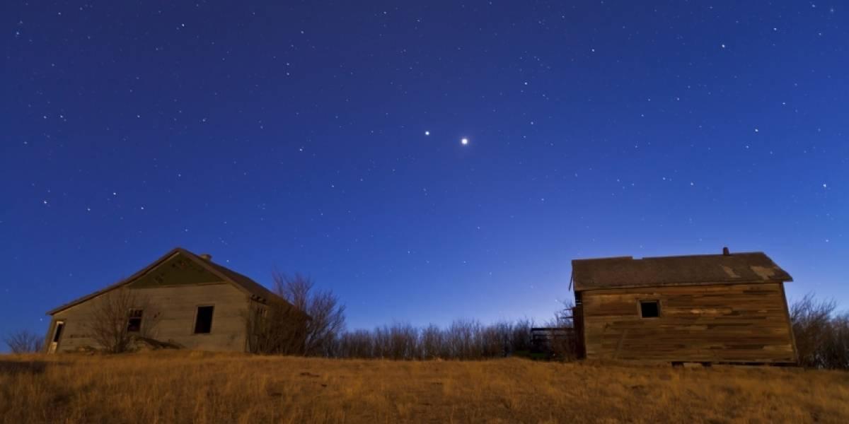 No te pierdas a Venus y Júpiter brillando casi juntos esta noche